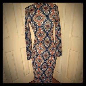 Vintage 70's Long Dress